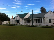 Alf Berrick Memorial Green that is at the front of the Club